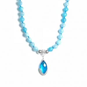 Aquamarin Halskette