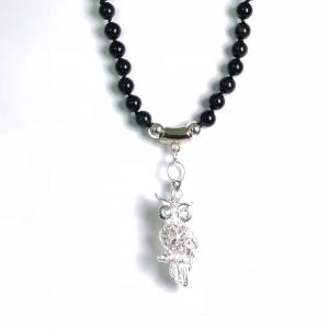 Obsidian Rainbow Halskette