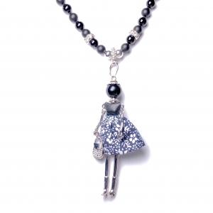 IMG 3520 1 Armband GABUDIA Onyx Halskette geknüpft matt+poliert