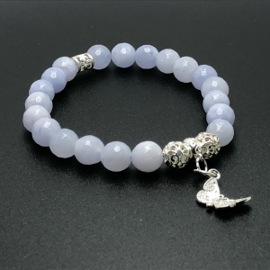 IMG 4390 Armband GABUDIA Chalcedon facettiert echt Silber Armband