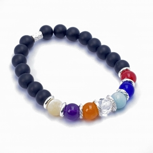 IMG 5643 Armband GABUDIA Chakra echt Silber Armband