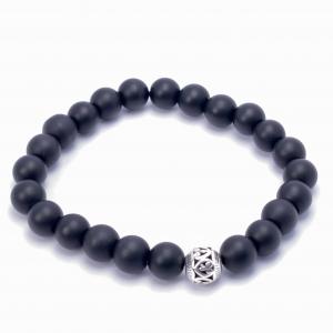 IMG 5692 Armband GABUDIA Onyx matt Armband