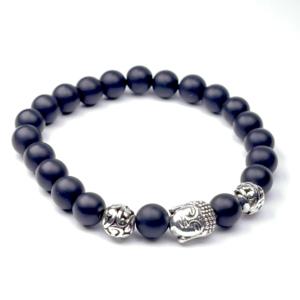 IMG 8873 Armband GABUDIA Onyx matt Armband