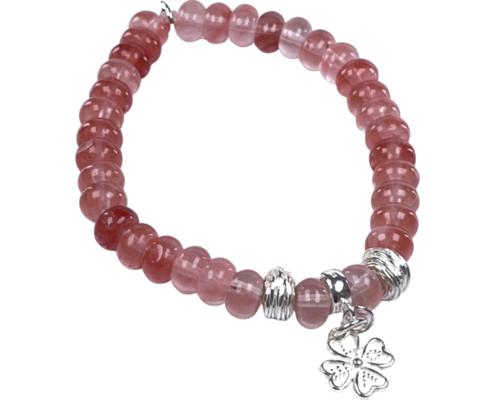 IMG 0522 Armband GABUDIA Turmalin Rosa (Rubelith) echt Silber Armband